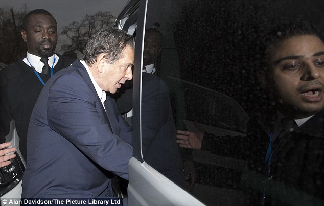 'Trivial': Mr Saatchi's accountant said he did not tell the millionaire about the credit card spending earlier because he considered it a 'trivial' matter
