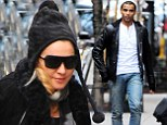 He would do anything for love! Madonna's toyboy Brahim Zaibat joins her family at Kabbalah Centre