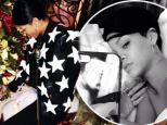 No need to check that list twice! Rihanna shows Santa her naughty side as she straddles his face