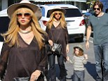Any day now! A pregnant Rachel Zoe takes the two special men in her life out to lunch as they all wait for the arrival of the newest member of their family