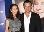 Over: Diane Lane and Josh Brolin, pictured in December, are now officially divorced