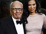 The note was apparently written by Rupert Murdoch's ex Miss Deng to herself, expressing her 'warm feelings' comparable to a 'crush' on Mr Blair.
