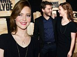 Star of the show! Holliday Grainger outshines co-star Emile Hirsch at premiere of Bonnie and Clyde: Dead and Alive