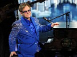 Risk: Russian officials could pull the plug on Sir Elton