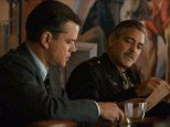 'Aren't we a little old for this?' George Clooney and Matt Damon reunite for new movie The Monuments Men