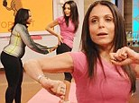 'She might need to go to rhythm school!' Phaedra Parks has dance off with Bethenny Frankel as she attempts to help talk show host achieve 'donkey booty'