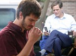 Andrew Garfield and Michael Shannon appear together in 99 Homes