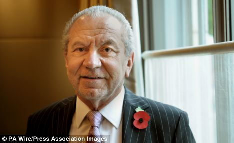 You're hired! Lord Sugar tells the House of Lords that ¿layers of jobsworths need removing¿ at the Corporation