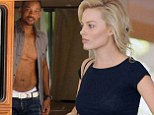 Will Smith and Margot Robbie enjoy a boat trip in Argentina