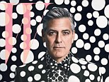 'I haven't met her yet': George Clooney reveals quest for true love as he's pictured in head-to-toe polka-dots for W Magazine's annual Art Issue