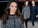 An optical illusion! Tamara Ecclestone conceals her baby bump with a heavily patterned fit and flare dress during outing with husband Jay Rutland