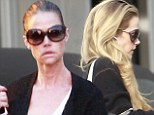 The royal treatment: Denise Richards goes from drab to fab as she visits the preferred hair salon of the Duchess Of Cambridge