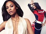 'It's hard being a woman in a man's world': Zoe Saldana opens up about breaking boundaries and why she'll never play the 'sexy bombshell'
