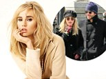 'If I start talking about him, I won't be able to stop!' Suki Waterhouse stays silent about boyfriend Bradley Cooper as she poses in the season's hottest new looks