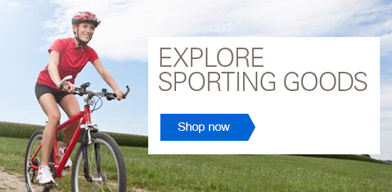 Explore Sporting Goods -- Shop now