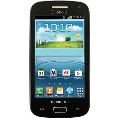 NEW TMOBILE SAMSUNG GALAXY S RELAY 4G T699 BLACK 8GB CELL PHONE ANDROID