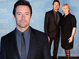 He's back! Hugh Jackman makes his first post-cancer surgery public appearance with wife Deborra-Lee at charity gala