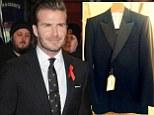 David Beckham suit tux