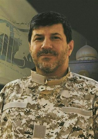 This undated photo released by the Hezbollah Media Relation Office on Wednesday, Nov. 4, 2013, shows Hassan al-Laqis, described by Hezbollah as one of the founding members of the group suggesting he was a high-level commander close to the party's leadership. Al-Laqis was gunned down Wednesday outside his home in southern Beirut, security officials said. Hezbollah blamed Israel for the killing, something an official there quickly denied.