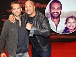 'We bonded over our daughters': Dwayne Johnson says family talk forged his friendship with late Fast And Furious co-star Paul Walker