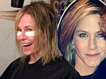 Is this the new 'Rachel'? Chelsea Handler copies best friend Jennifer Aniston's new shorter hairstyle