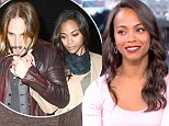 'I got married in England. Can you top that?' Zoe Saldana finally confirms marriage to Italian artist Marco Perego on Kimmel