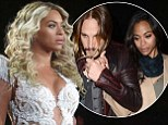 Crazy In Love! Zoe Saldana and new husband put on affectionate display as they attend Beyonce's concert during which singer pays tribute to Paul Walker