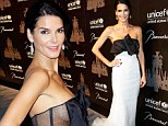 That's a bit risqué! Angie Harmon flashes some side-boob in see-through frock at UNICEF's annual Snowflake Ball