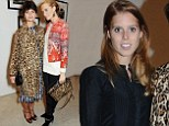 Fashion royalty meets ACTUAL royalty! Princess Beatrice joins Poppy Delevingne and Pixie Geldof at exhibition viewing