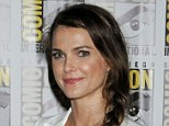 Back to business: Keri Russell has returned to work on The Americans following the burglary at her New York home in the early hours of Wednesday morning