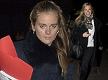 Awkward? Cressida and Chelsy both turn up to same carol concert without Prince Harry