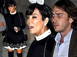 Kougar Kris on the loose! Mrs Jenner, 58, brags about 'date night' with Ben Flajnik, 31, as she struts around in thigh-high boots at Beyonce gig