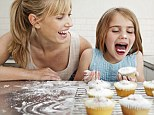Hard to live up to: Other Children's Mums are more fun and allow them to have lots of treats (posed by models)
