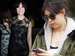The two sides of Daisy: Daisy Lowe couldn't be further from her glam red carpet look at the British Fashion Awards as she steps out looking dressed down and make-up free days later