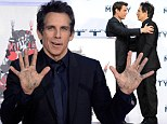 Ben Stiller is honoured by pal Tom Cruise as he joins the ranks of Hollywood's great with hand and footprint ceremony