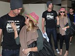 The honeymoon is over... for now! Kaley Cuoco and fiance Ryan Sweeting return home from romantic trip to the Bahamas and still continue to pack on the PDA