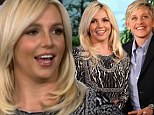 'He forgot to call me back for six hours: Britney Spears reveals she and boyfriend David Lucado had a 'tiffy' in chat with Ellen DeGeneres