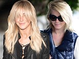 Bangs out of order! Julianne Hough is a fringe contender for worst hairstyle as she reveals messy cut and new extensions after SIX HOUR visit to hair salon
