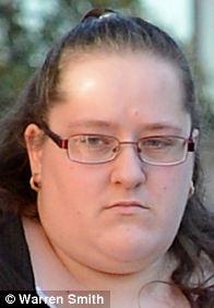 Katie Cairns: Stamped on foot
