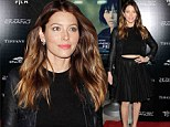 You could have made an effort! Jessica Biel fails to light up The Truth About Emanuel premiere in simple black ensemble