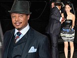 'It's another one of his outlandish moves': Terrence Howard 'secretly weds his girlfriend of one month'
