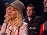 Christina Aguilera made a passionate plea on Tuesday for viewers to save her singer on The Voice, but rival coach Adam Levine came out ahead.