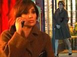 Jennifer Lopez films in Los Angeles
