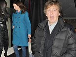 Paul McCartney joins Japanese Beatles tribute band on stage during wife Nancy Shevell's surprise birthday party