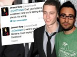 'No one wants to hear the fake black accent from a kid who knows the Spielbergs!' Tom Hanks' son Chester is blasted by rapper