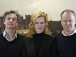 Colin Firth, Nicole Kidman and Stellan Skarsgard stars of The Railway Man, which will premiere in cinemas on New Year's Day