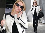 Nothing 'Wild' about her! Reese Witherspoon is chic in tailored monochrome ensemble as she takes a break from filming hiking memoir movie
