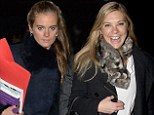 Well that's awkward! Prince Harry's ex Chelsy Davy and current girlfriend Cressida Bonas attend same carol service