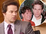 'My mom's not speaking to me right now': Mark Wahlberg, who has seven siblings, admits he's far from the family favorite