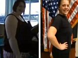 Karyna Douglass, 23, dreamed of joining the army, but didn't meet the weight requirements; now she has completed her ultimate mission: losing 110lbs